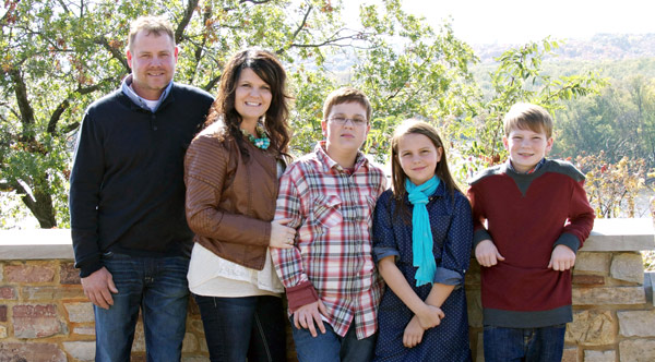 Todd and Kerry Huffman Family Photo